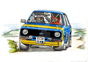 Rally Mk2 Escort by Rallyist1