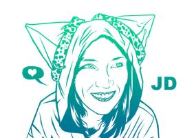 Jenni in Vector by ropa-to