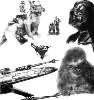 Star Wars Collage by thorr