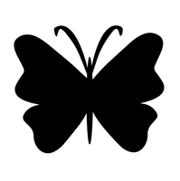 Butterfly Vector Brush by bythebutterfly