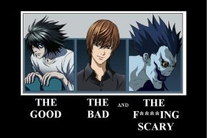 Death Note Demotive 2 by mysterylance99