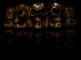 Night Skulls by soulless666