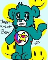 Thanks-A-Lot Bear by WillowFang89