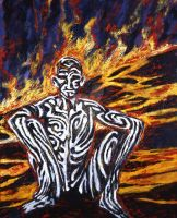 Stripes and Fire by CliveBarker
