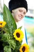 APH - Sunflower Smile by Gol-D-Ace