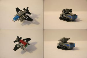 More Lego/Kreo Microscale goodies! by multihawk