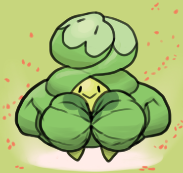 Beefy Budew by TheCottonCandyQueen