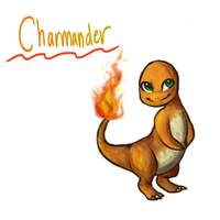 Charmanderp by PandaRainbow