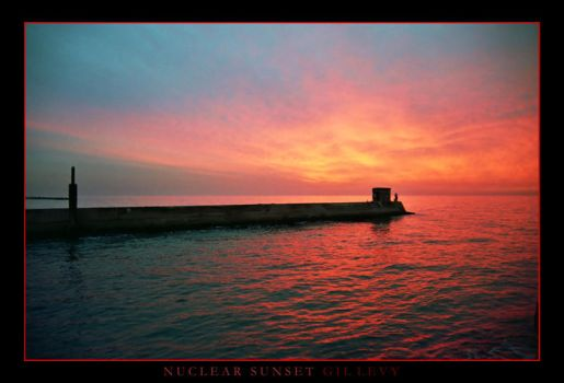 NUCLEAR SUNSET by Gil-Levy