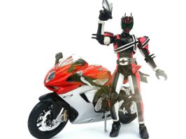kamen Rider Decade by WINDEARTFLY