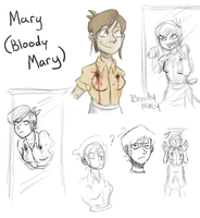 Meet Mary (Bloody Mary) by SuperGhostDuck01