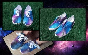 Galaxy Shoes by Ragamuffyn