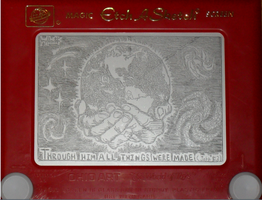Center Stage Etchasketch by pikajane