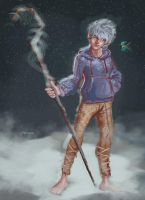 rise of the guardians jack frost by BaerArt