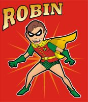 Robin the Boy Wonder II by HeadsUpStudios