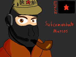 Subcomandante Marcos Take Two by DragonQuestWes