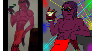 REDRAW Big Daddy Thrax 2011/2015 by DominotheFembot