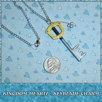 Kingdom Hearts Keyblade Charm by YellerCrakka