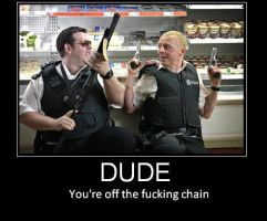 Hot Fuzz by Sarzdotcom