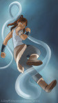 Korra of the water tribe by LilayM