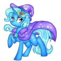 MLP: The Great and Powerful Trixie (remake) by KikiRDCZ