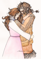 Bofur and Kelda by Autumn-Rouge