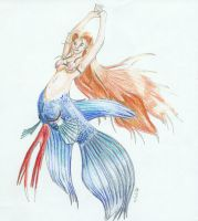 Shannon's Mermaid - Colored by Paleos