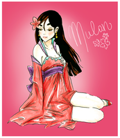 Mulan by michA-sAmA