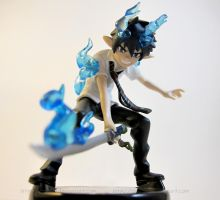 Rin Okumura- Ao no exorcist by Tsurera