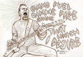 James Hetfield by Bungle0