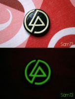 Linkin Park brooch / pin / magnet FOR SALE by dsam4