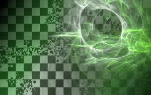 Green chessboard by Jindra12