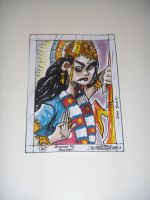 Lord Parvati Sketch Card (Inspired by Mokhtar) by saintvinod