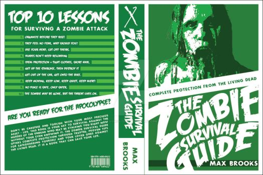 The Zombie Survival Guide Redesign by Hybrid-Tech