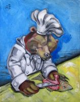 Carnivorous Chef - The Bear by ellemrcs