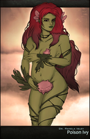 Poison Ivy: Nature goddess by Chronorin