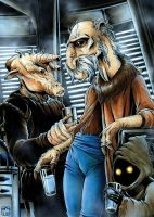 Yak Face on Jabba's Sail Barge by jpc-art