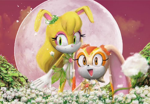Bishojo Senshi Sega Moon (and Chibi Moon) by MikoChan