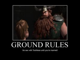 HTTYD-Ground Rules by IllusionEvenstar