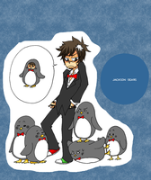 Jackson Sears is a Penguin by LarkIsMyName