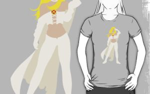 Emma Frost T-Shirt by drg
