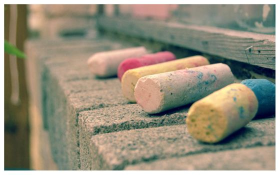 Summer Chalk 2 by SweetMysterium