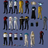 New Uniforms for Starfleet by Tobirone