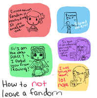 How To NOT Leave a Fandom by BooksAndBagels