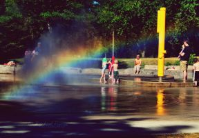 rainbows and reflections. by this-is-the-life2905