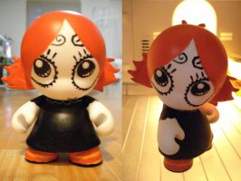 Ruby Gloom Munny by VagueIndustries