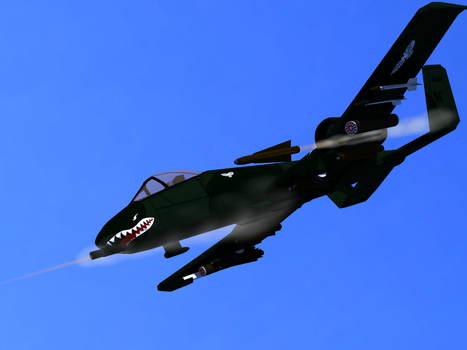 ISA A-10 Warthog by Tank50us