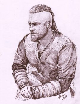 ''Vikings'' Ragnar Lothbrok by DafnaWinchester