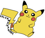Commission: Awkwardly-Handsome (PIKACHU!) by ColorMyMemory