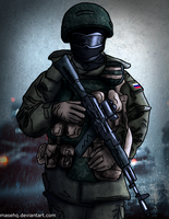 RF soldier by MaseHQ